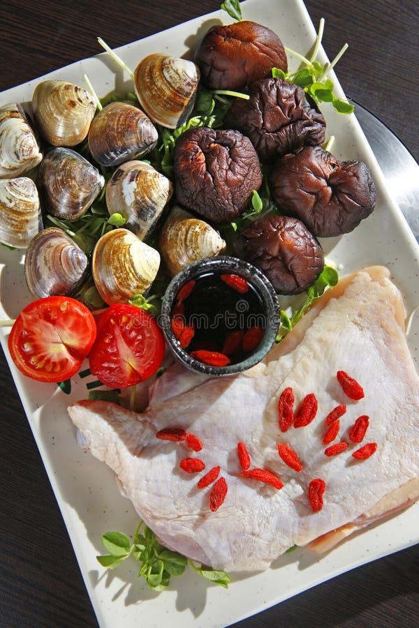 Chicken Platter Stock Image
