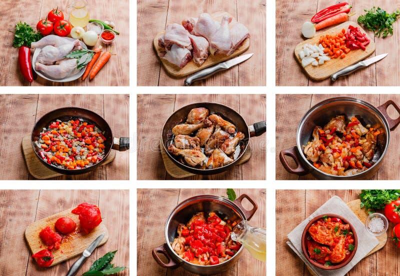 Download Chicken Recipe Preparation Stock Photo Image Of Food