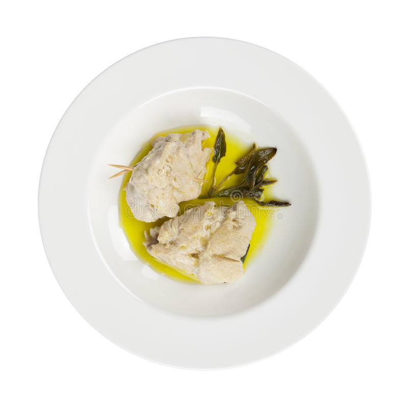 Download Chicken Roulade Ham, Cheese, Spinach, Olive Oil Stock Image - Image: 23985215