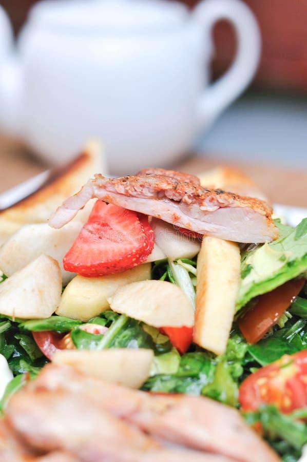 Chicken Salad stock photo