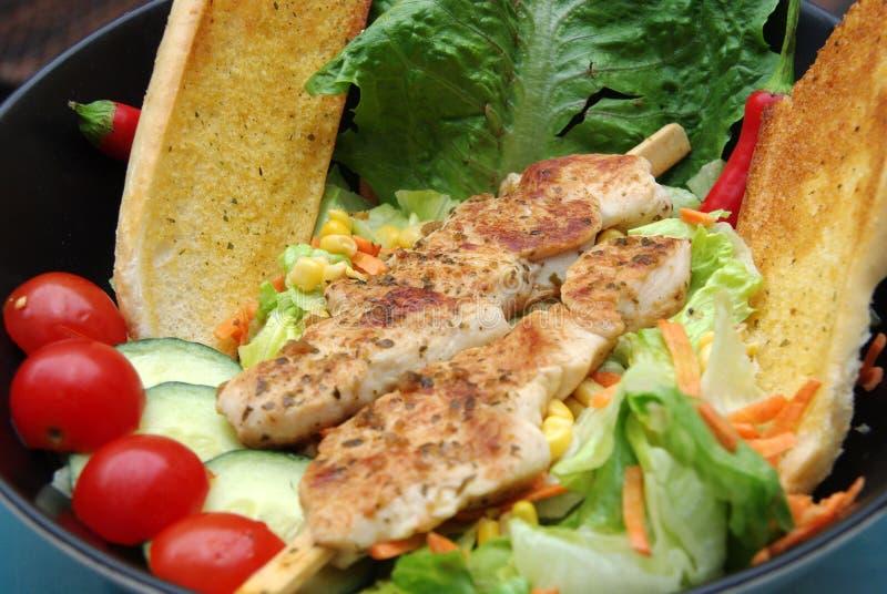 Chicken salad royalty free stock photo