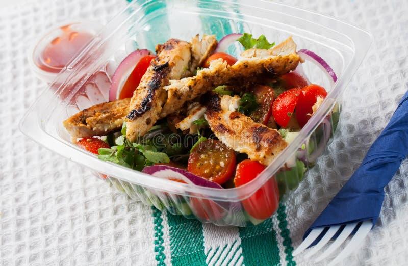 Download Chicken salad stock image. Image of kids, food, nobody - 25492579