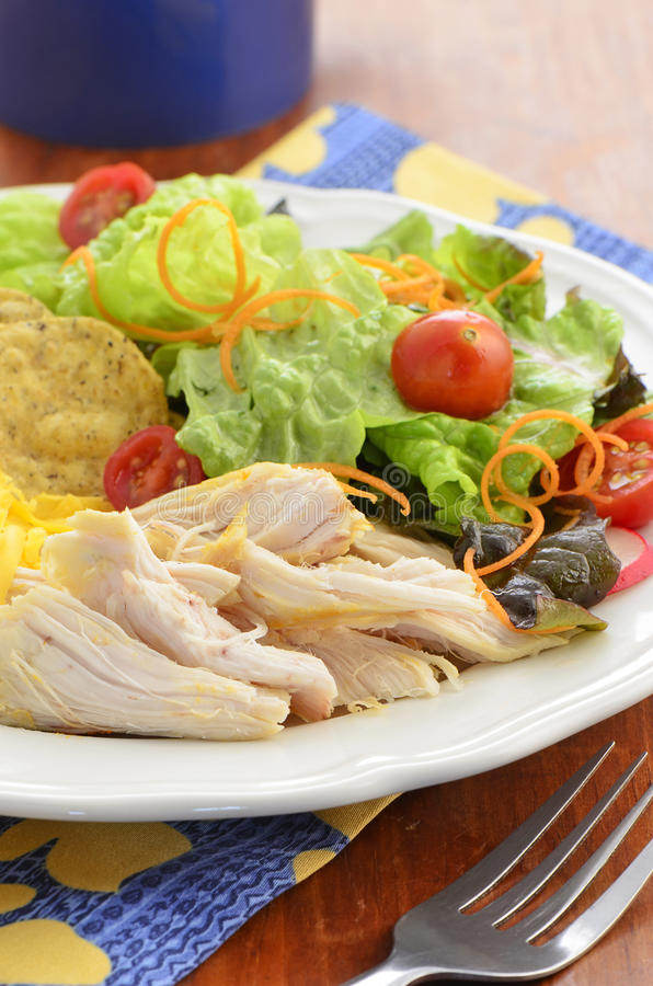 Download Chicken With Salad Royalty Free Stock Photo - Image: 37947415