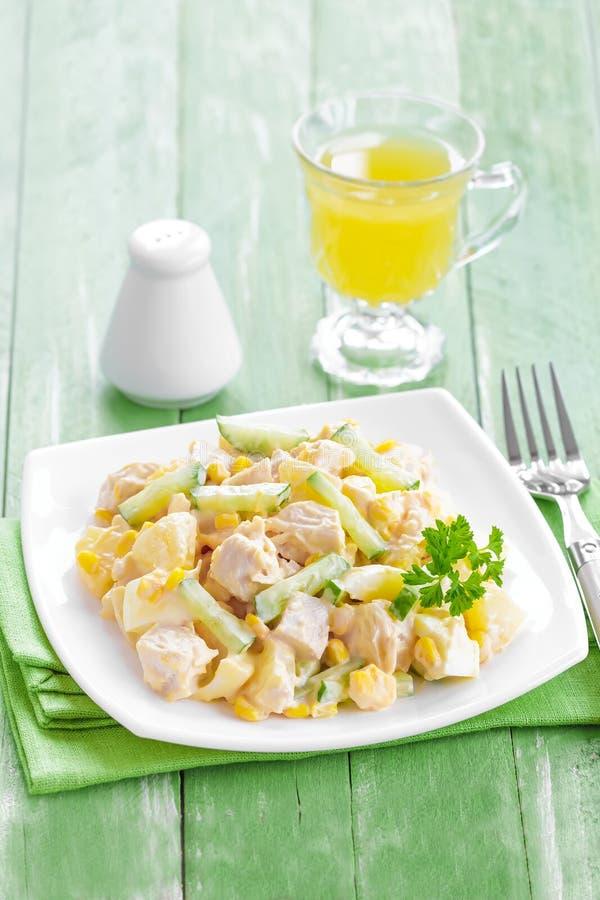 Download Chicken salad stock photo. Image of breakfast, festive - 38349084