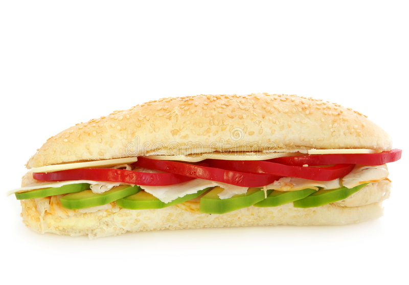 Download Chicken Sandwich stock image. Image of lunch, avocado - 2329241