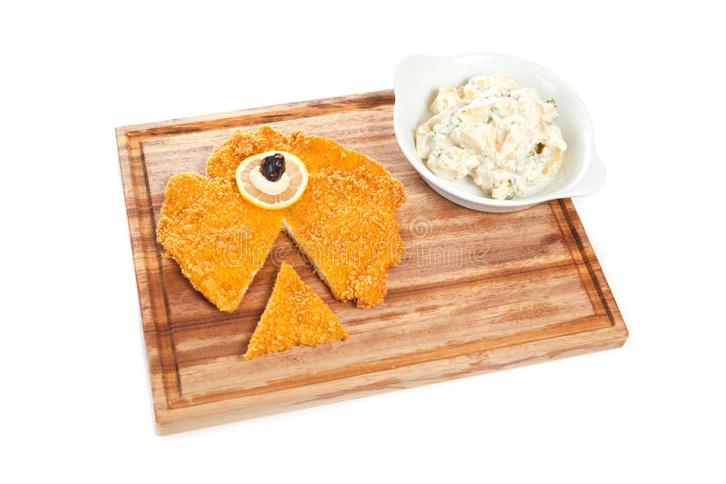 Download Chicken Schnitzel Stock Images - Image: 17290034