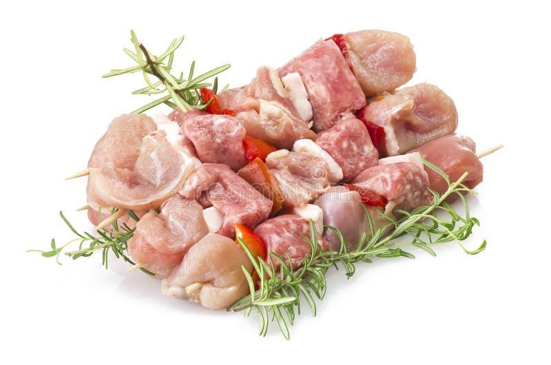 Download Chicken skewers stock image. Image of skewer, stick, background - 31367399