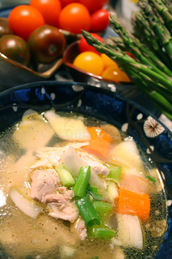 Download Chicken Soup stock image. Image of health, healthy, food - 11952323