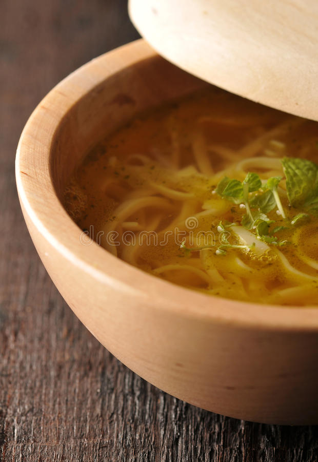 Download Chicken Soup - Broth Stock Photography - Image: 28538222