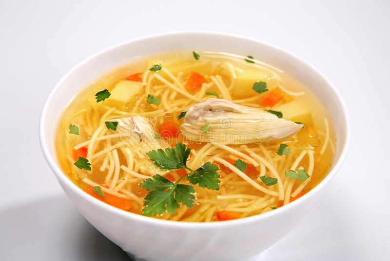 Download Chicken Soup tasty stock photo. Image of cooking, organic - 18930892