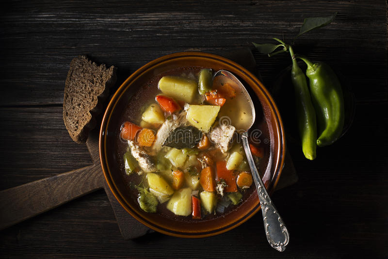 Chicken stew royalty free stock images