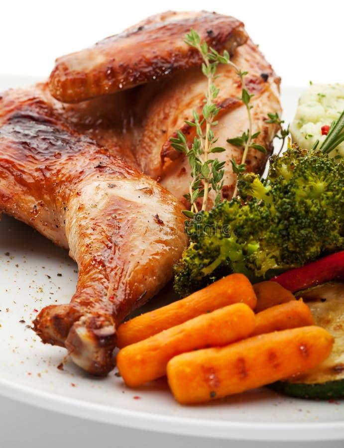 Chicken Tabaka Stock Photos