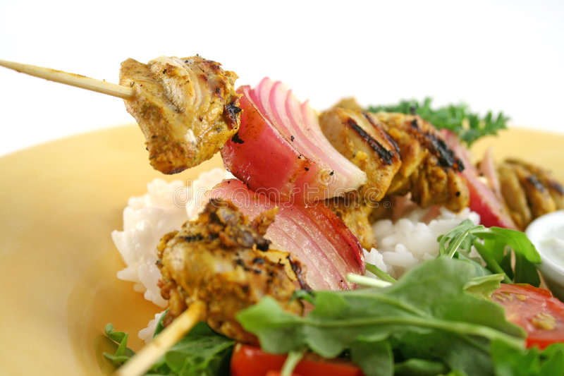 Download Chicken Tandoori Skewers 2 stock image. Image of flavorful - 4294303