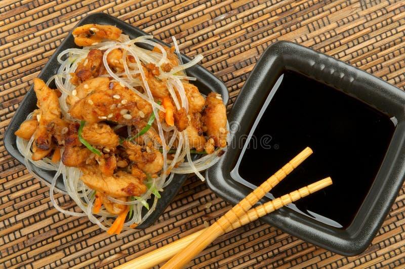 Chicken Teriyaki stock photography