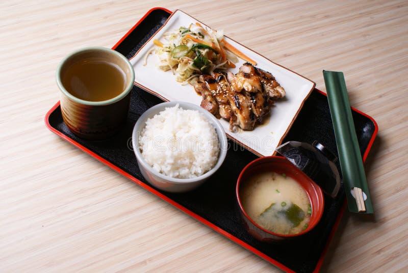 Download Chicken Teriyaki Set Menu Royalty Free Stock Image - Image: 29033116