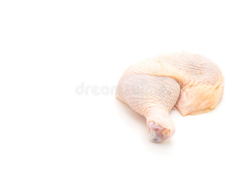 chicken thigh royalty free stock images
