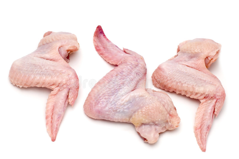Chicken wing stock photography