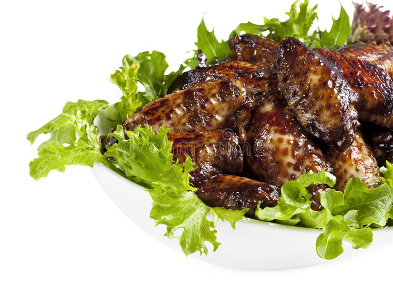 Chicken Wings stock images