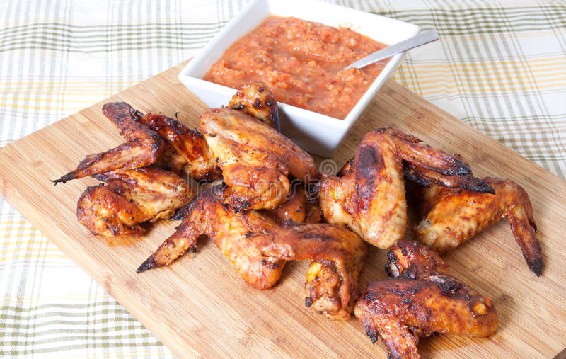 Download Chicken wings stock image. Image of bakes, barbecue, fried - 18254523