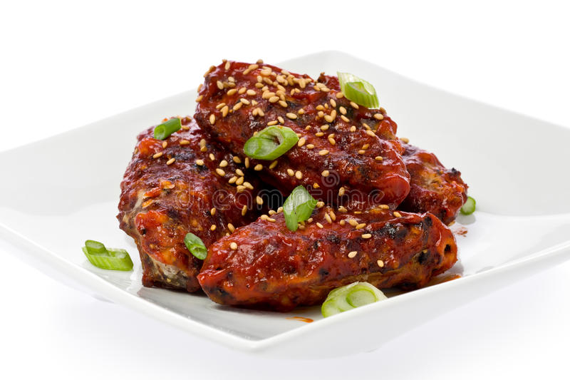 Download Chicken Wings stock photo. Image of wings, korean, spicy - 23966482