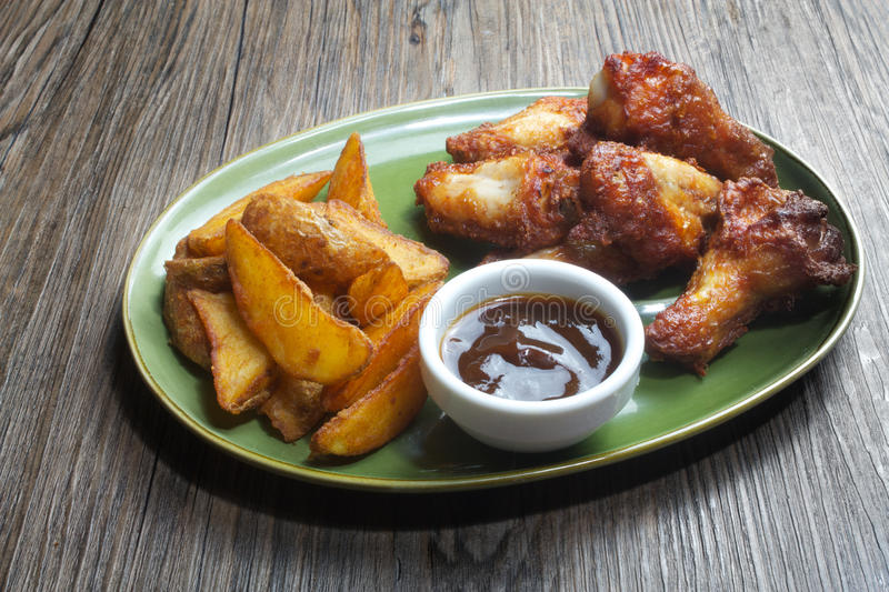 Download Chicken wings stock image. Image of food, fast, wings - 24582517