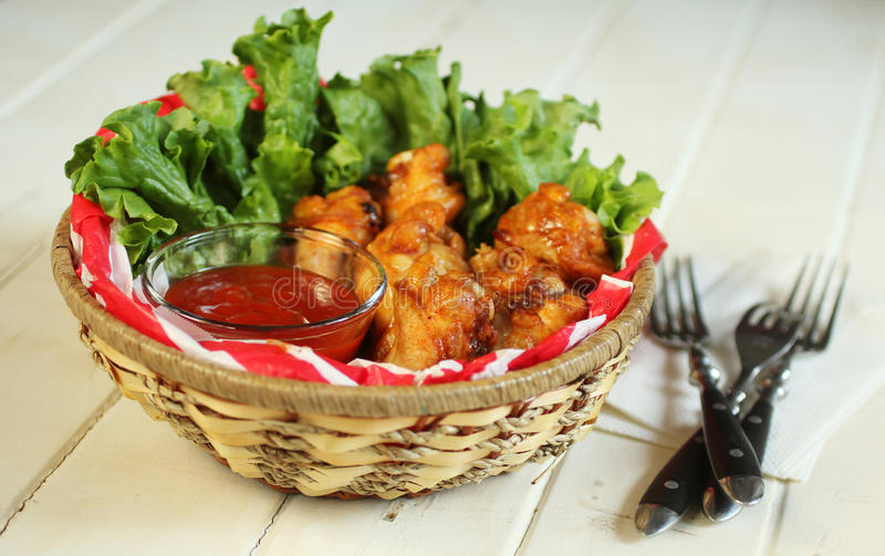 Download Chicken wings stock photo. Image of appetizer, barbeque - 27866384