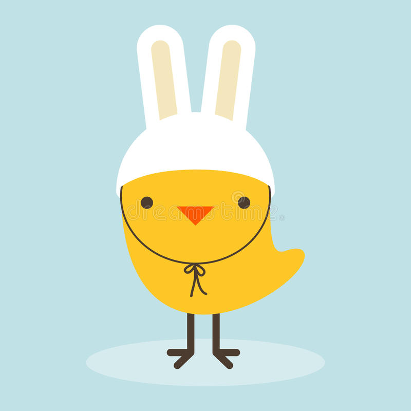 Free ChickenRabbit Royalty Free Stock Images - 25017109