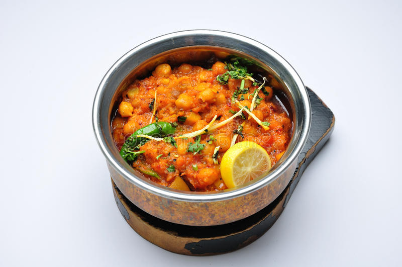 Download Chickpeas channa masala stock image. Image of vegetarian - 14872523
