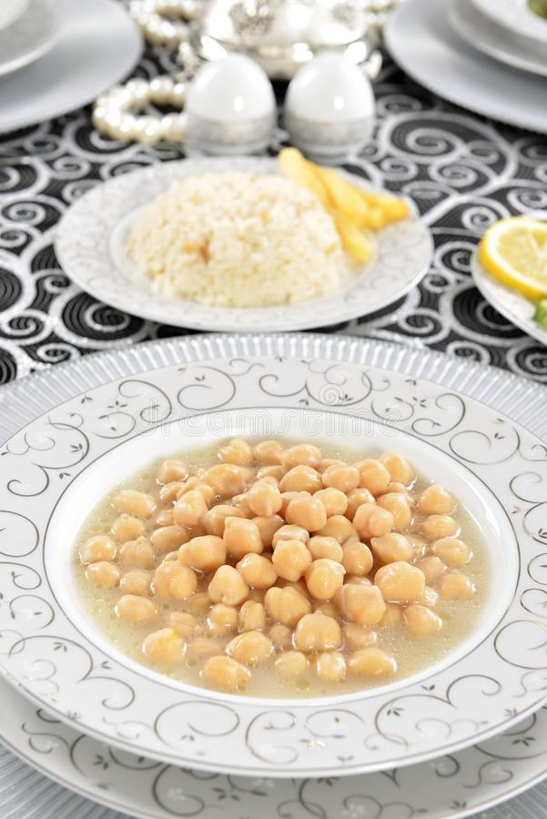 Download Chickpeas stock photo. Image of grate, tastefull, table - 32908162