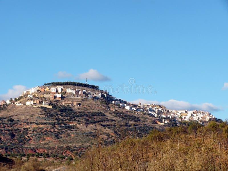 Chiclana de塞古拉村庄在哈恩省 库存照片