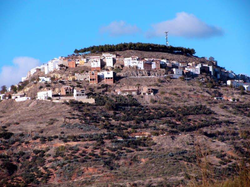 Chiclana de塞古拉村庄在哈恩省 库存图片