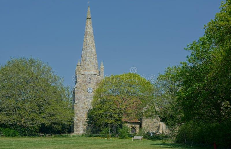 Chiddingly kościół sussex UK zdjęcie stock