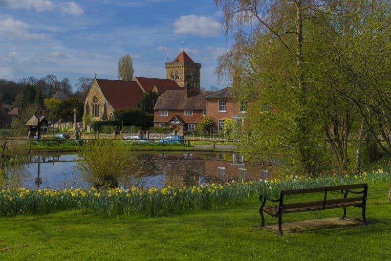 Chidingfold, Surrey, Inglaterra foto de archivo