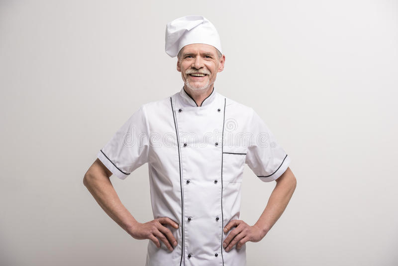 Chief cook royalty free stock images
