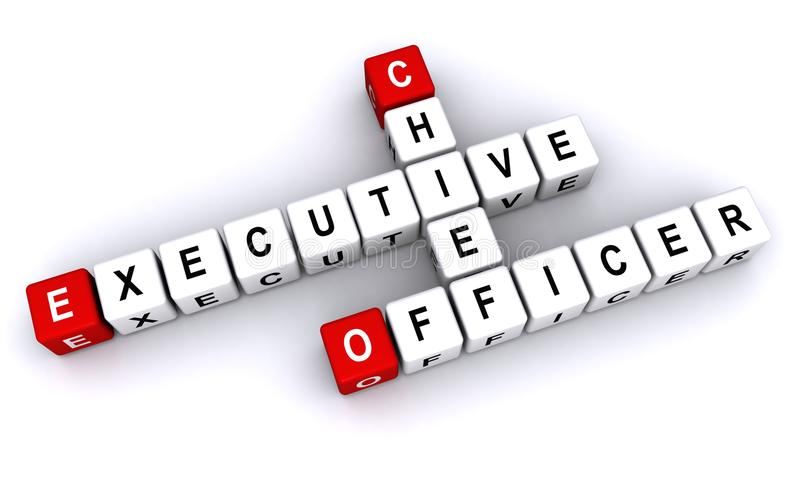 Chief Executive Officer stock illustration