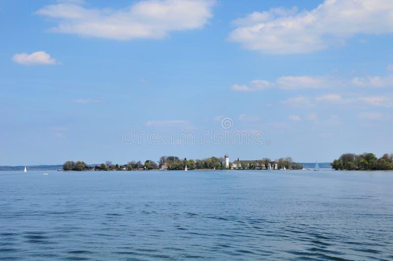 Chiemsee de lac en Bavière l'Europe images libres de droits