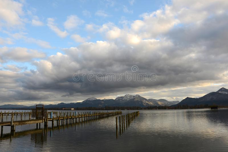 Chiemsee obrazy stock