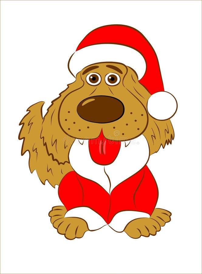 Chien, année de chien, illustration libre de droits