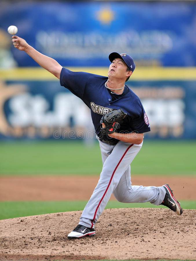 Chien-Ming Wang - Washington Nationals Pitcher