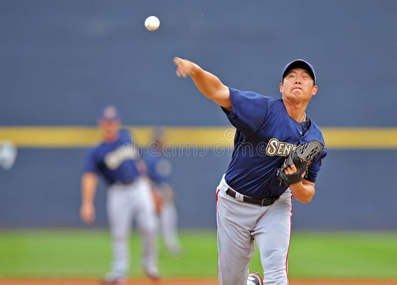 Download Chien-Ming Wang - Washington Nationals Pitcher Editorial Stock Photo - Image: 26007378