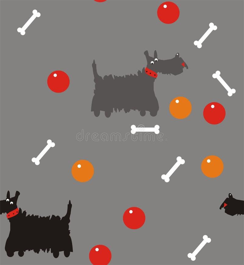 Chien terrier écossais illustration libre de droits
