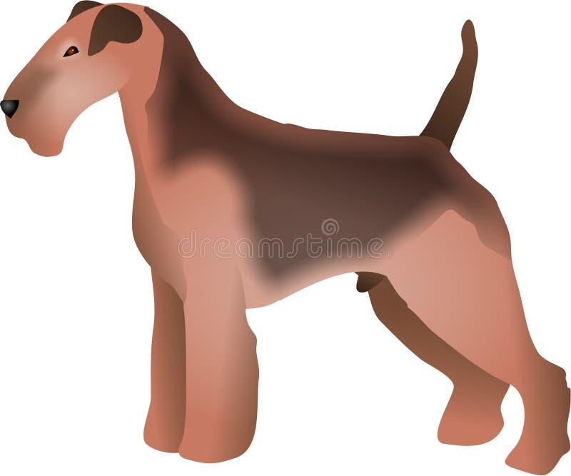 Download Chien terrier d'obturation illustration stock. Illustration du pedigree - 83973
