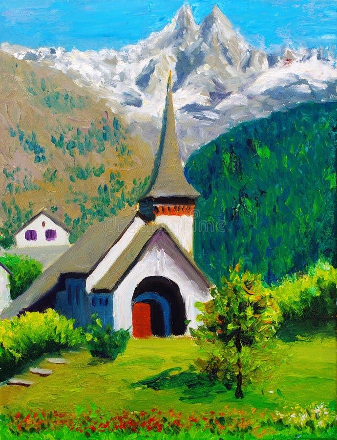 chiesa illustrazione di stock