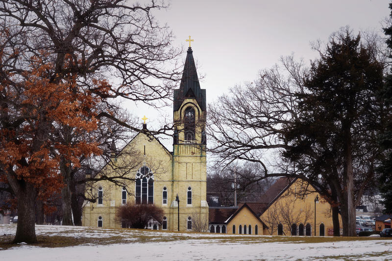 Chiesa fotografia stock libera da diritti