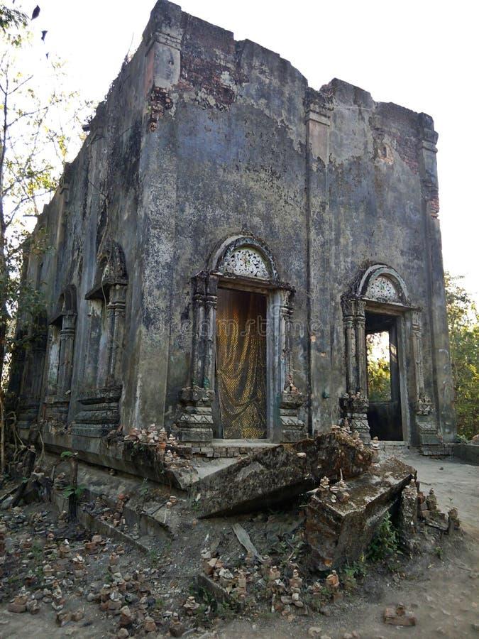 Chiesa abbandonata fotografie stock libere da diritti