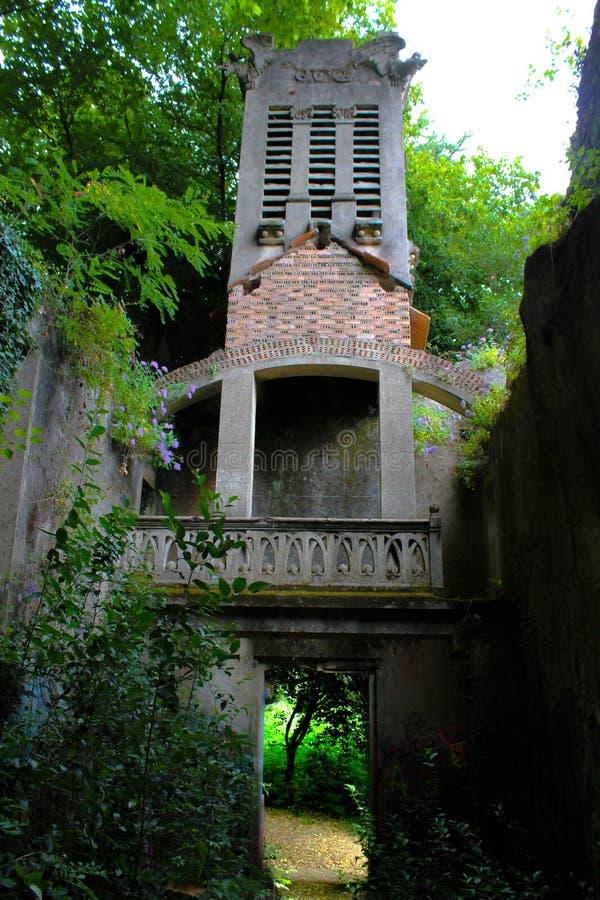 Chiesa abbandonata immagine stock