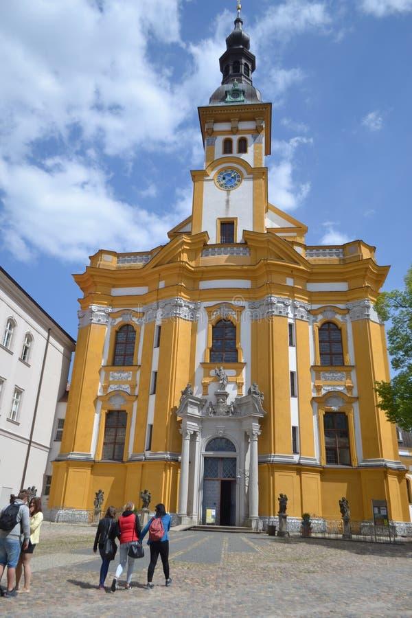 Chiesa al frankfurter sul Oder fotografia stock libera da diritti