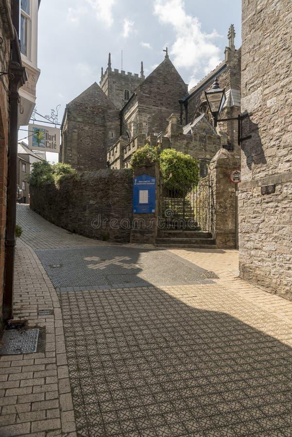 Chiesa Anglicana Dartmouth Devon dei salvatori della st fotografia stock libera da diritti