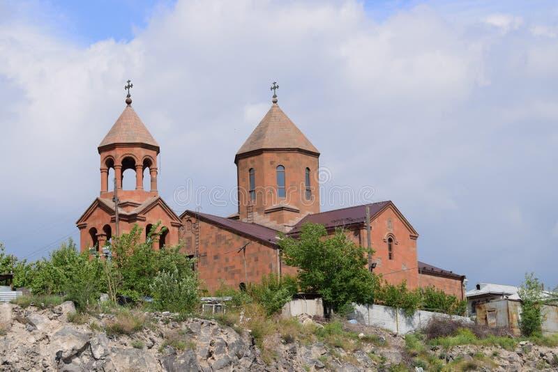 Chiesa antica di Cristo a Yerevan, Armenia immagini stock