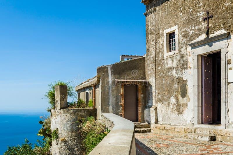 Chiesa antica di Taormina fotografia stock